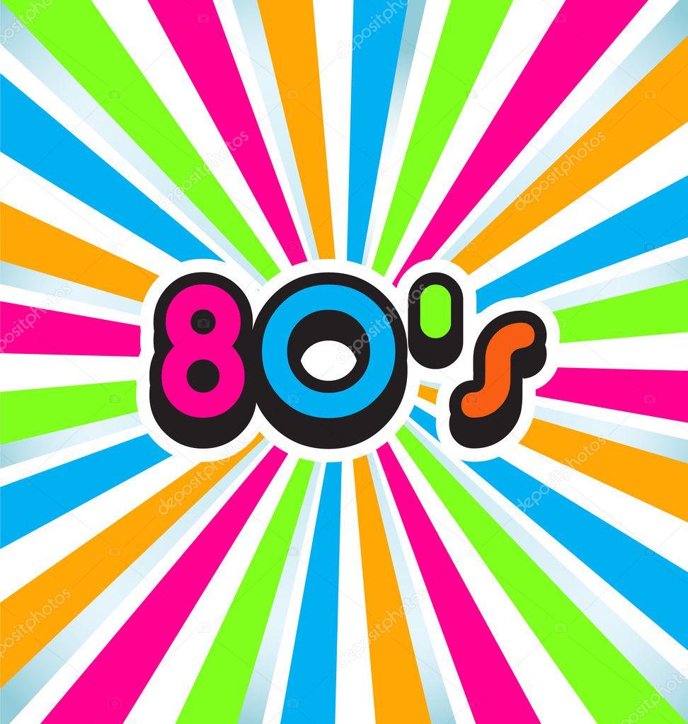 80s Pop Art Background Stock Vector Deskcube 34179531