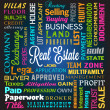 Real Estate Theme — Stockvectorbeeld