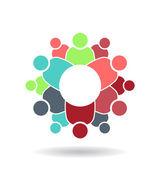 Family Group logo — Stock Vector