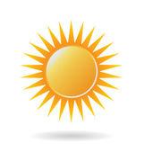 Logo Power Sun — Stock Vector