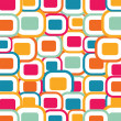 Vector 70s Color Vintage background — Stock Vector