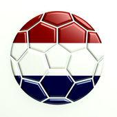 Nederländerna fotboll bollen ikonen — Stockfoto