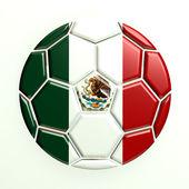 Mexico soccer ball — Stock Photo