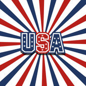 USA vector stardust patriotic background — Stock Vector