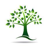 People tree. Logo for Family tree — Stock Vector