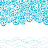 Beautiful wave background — Stock Vector