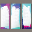 Set of abstract banners - Stock vektor