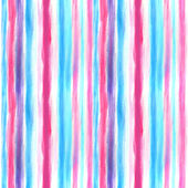 Watercolor blue and pink pattern — 图库照片