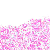 Beautiful paisley background — Stock Vector