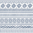 Abstract tribal pattern - Vettoriali Stock