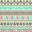 Abstract tribal pattern — Stock Vector #25714621