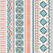 Abstract tribal pattern — Stock Vector #25785235