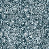 Beautiful paisley seamless — Stock Vector
