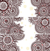 Set of Beautiful vintage ornate banners — Stock Vector