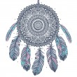 Ethnic Dream catcher — Vettoriali Stock