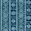 Abstract tribal pattern — 图库照片
