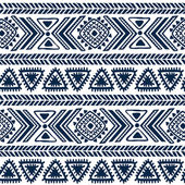 Abstract tribal pattern — Stock Vector