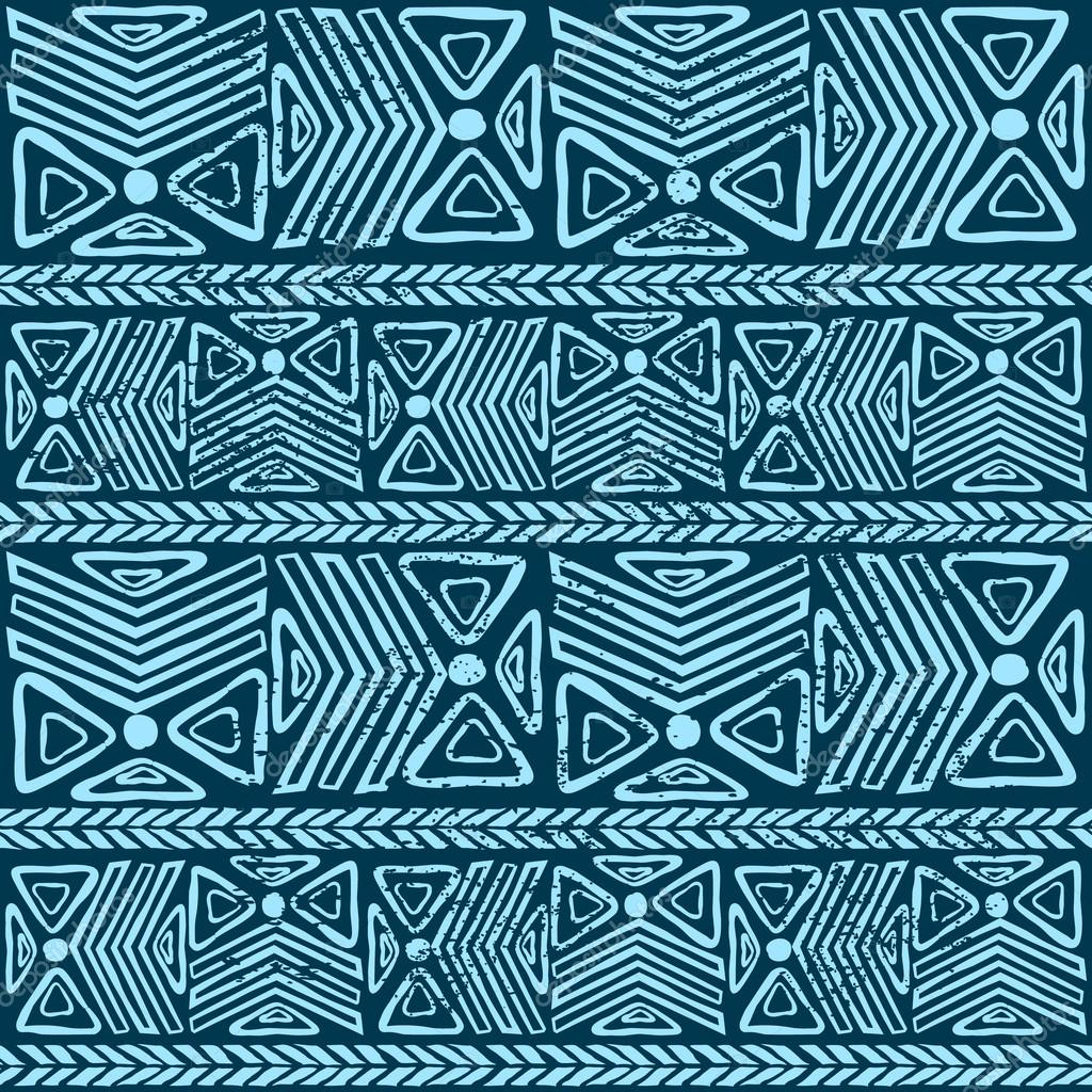 Abstract tribal pattern Easy African Tribal Patterns