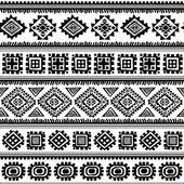 Tribal vintage ethnic pattern seamless — Stock Vector