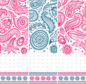Beautiful vintage floral ornate banners — Stock Vector