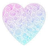 Beautiful Valentine's day heart — Stockvector