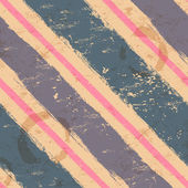 Vintage seamless with watercolor stripes — Vector de stock