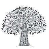 Unique ethnic tree of life — Stock Vector