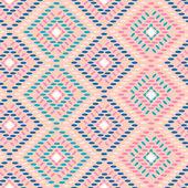 Tribal vintage ethnic seamless — Vettoriale Stock