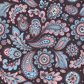 Beautiful floral seamless — Stock Vector