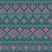 Tribal vintage ethnic seamless — Wektor stockowy