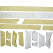 Stock Photo: Masking tape