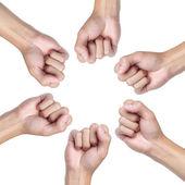 рука круг — Стоковое фото
