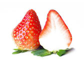 Strawberries. Clipping path — Stock Photo