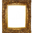 Royalty-Free Stock Photo: Gold picture frame
