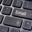 Email concepts, messages on keyboard - Stockfoto