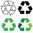 Recycle sign — Stock Photo #26166399