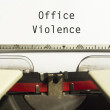 Office violence — Stock Photo #26373731