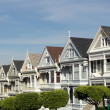 Stock Photo: Painted Ladies of SFrancisco in California.