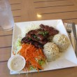 Stock Photo: Teriyaki Chicken Plate Lunch