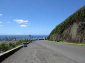 Tanatalus Lookout on Round Top drive overlooking Honolulu — Stock Photo