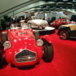 Stock Photo: Display of Classic Cars at Auto Show