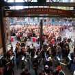 Stock Photo: Crowd of entering AT&T Park