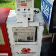 Newspaper dispenser for The Honolulu Advertiser — Stock Photo