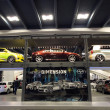 Two Floor display of Scion Cars - Stock Photo