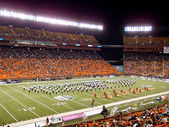 Half Time Show at Aloha Stadium — Stock Photo