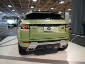 Land Rover Range Rover on Display — Stock Photo