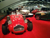 Display of Classic Cars at Auto Show — Stock Photo