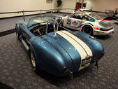 Classic Racing Cars on display at Car Show — Stock Photo