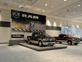 Dodge Ram Trucks on Display — Stock Photo
