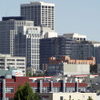 Clock Tower Building and other tall buildings of Downtown San Fr — Stock Photo